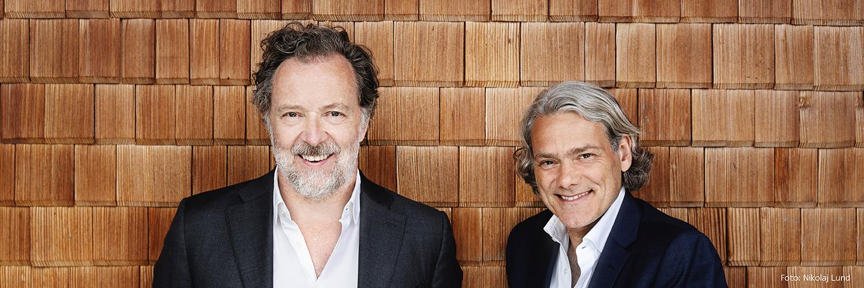 Bariton Christian Gerhaher und Pianist Gerold Huber fotografiert von Nikolaj Lund