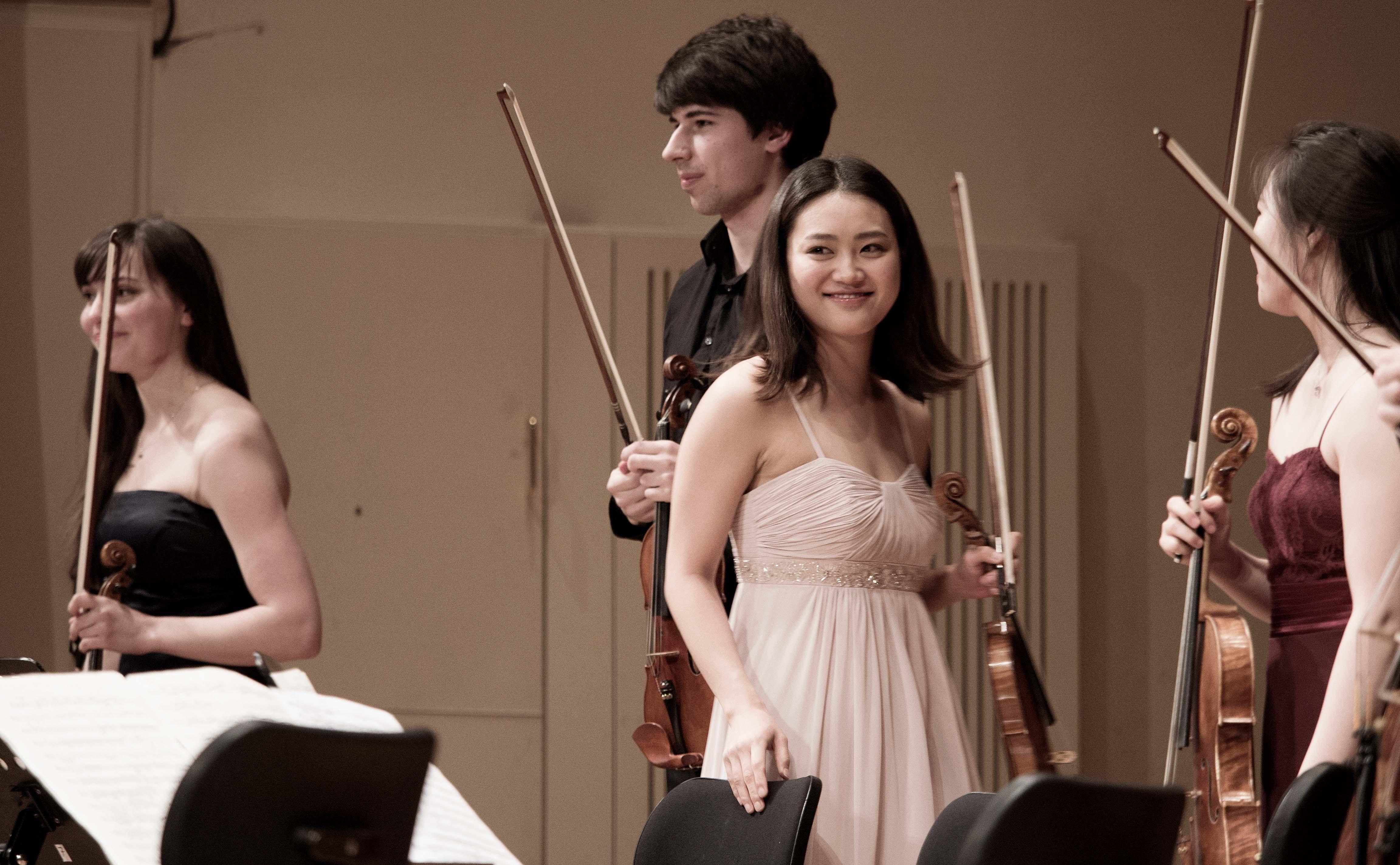 Stipendiaten der Kammermusik Akademie