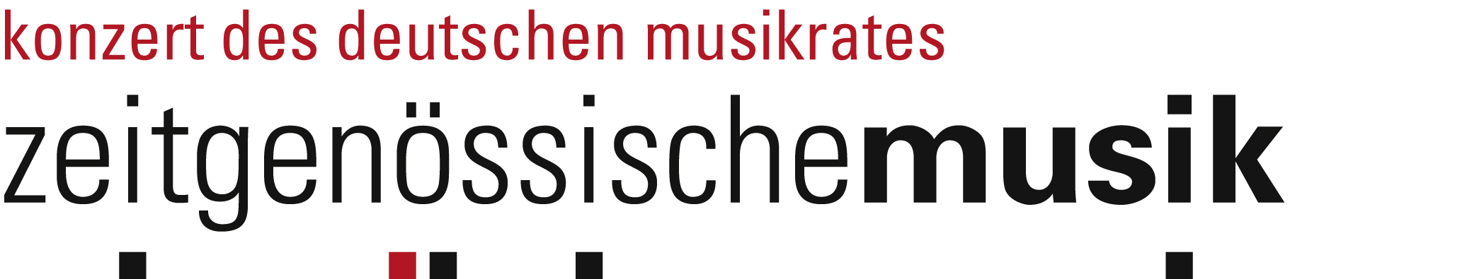 Logo Konzert des Deutschen Musikrats
