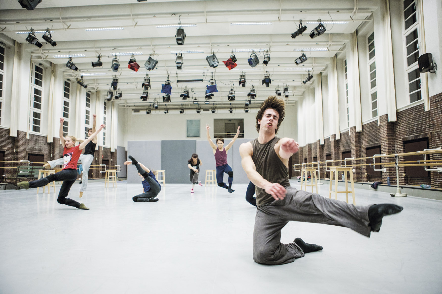 Workshop mit dem Bundesjugendballett