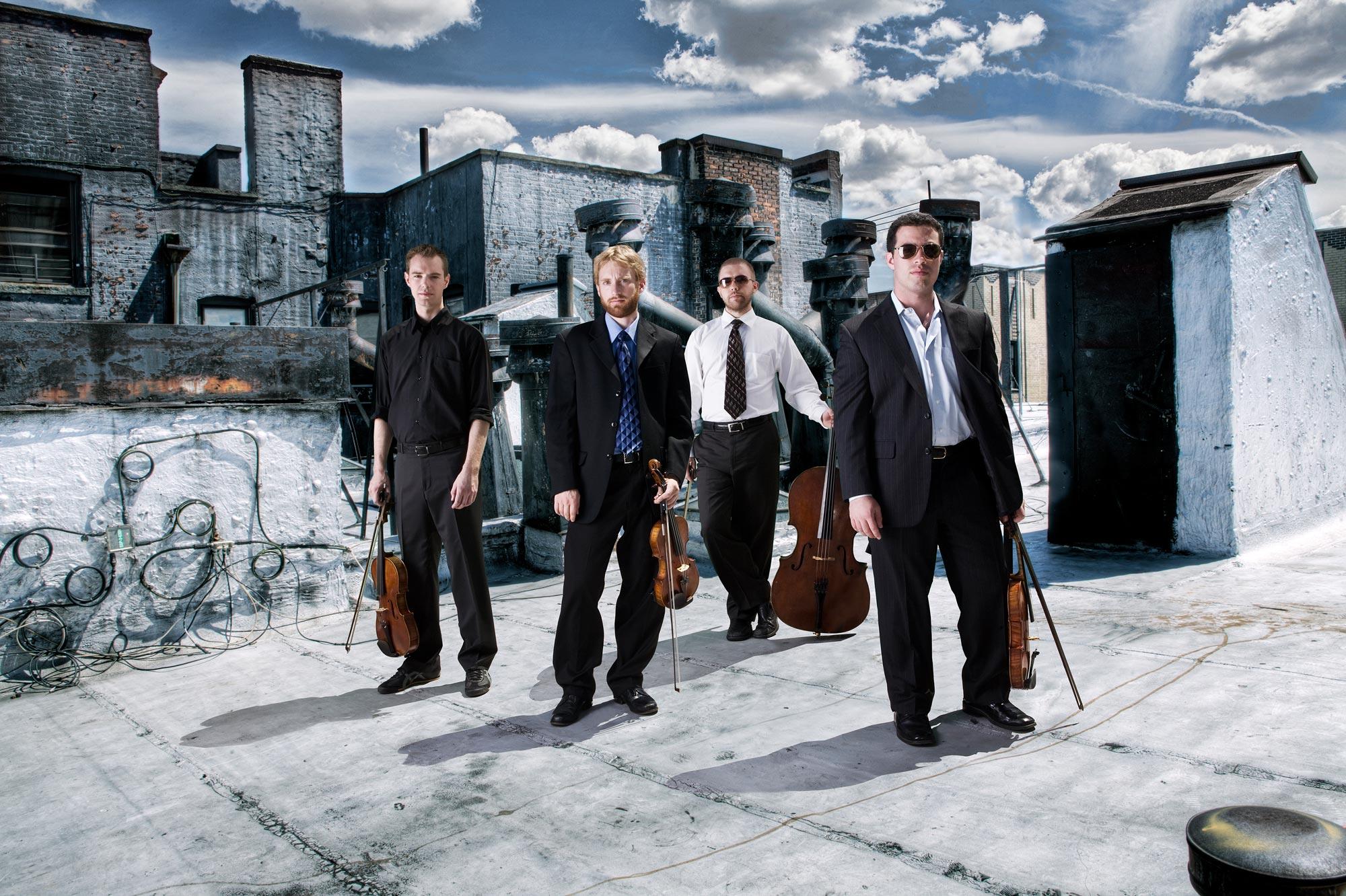 JACK Quartet © Justin Bernhaut