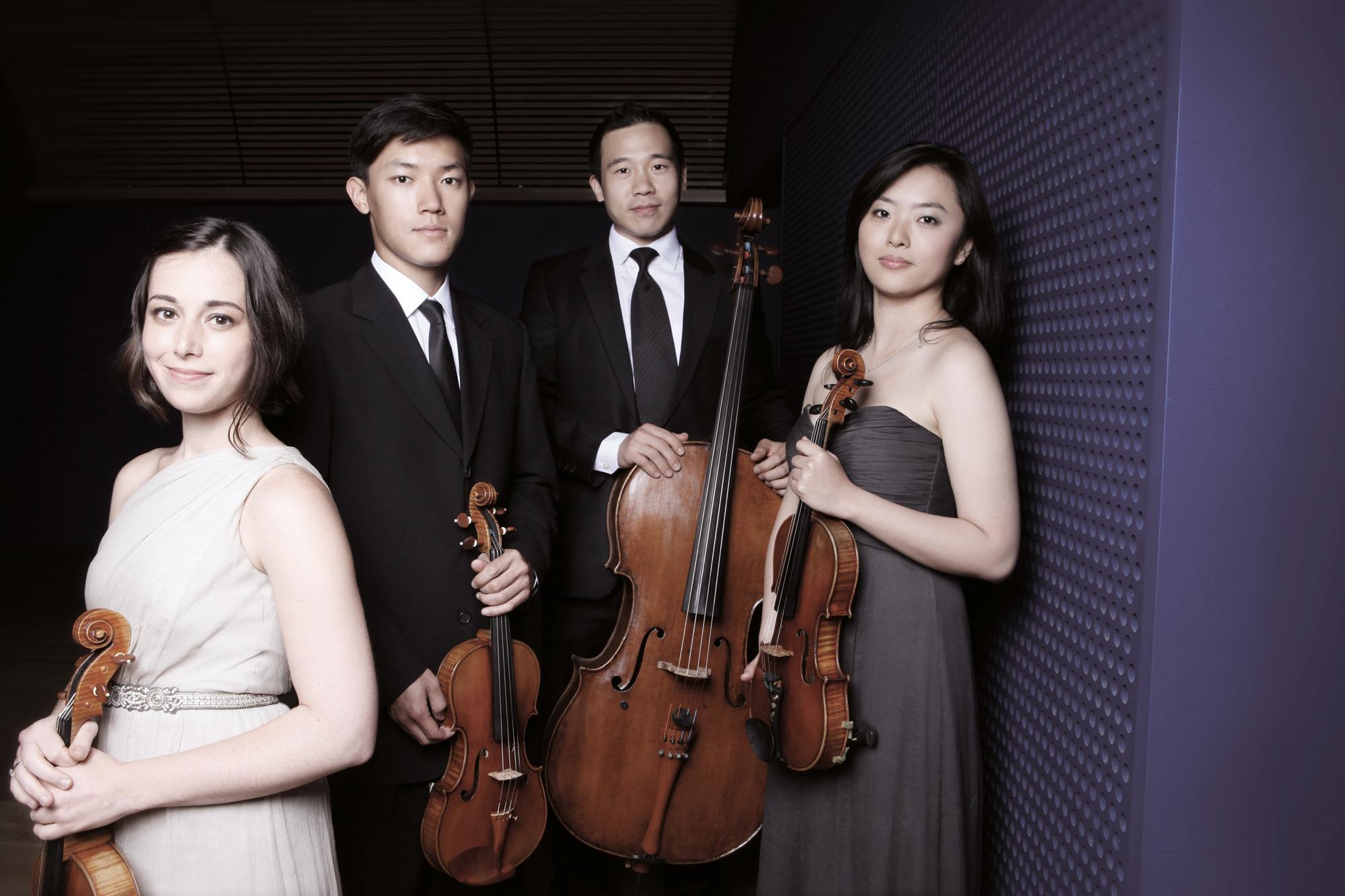 Parker Quartet © Jamie Jung