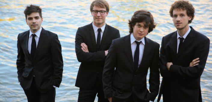 Van Kuijk Quartet © Adrien Vecchioni