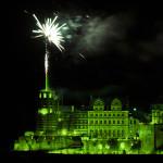 Ein Feuerwerk zum Zwanzigsten
