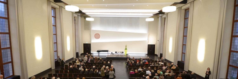 Neue Aula der Universität Heidelberg