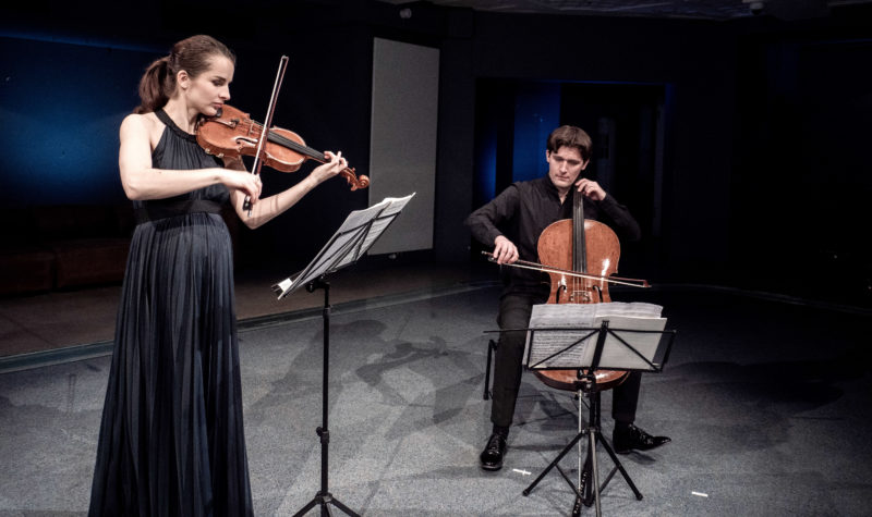 Alina Pogostkina und Maximilian Hornung (Foto: studio-visuell.de)