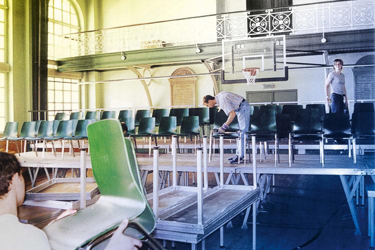 Bühnenaufbau Thorsten