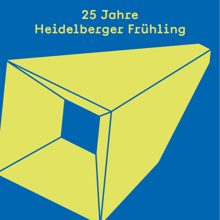 Anniversay Exhition 25 years of Heidelberger Frühling
