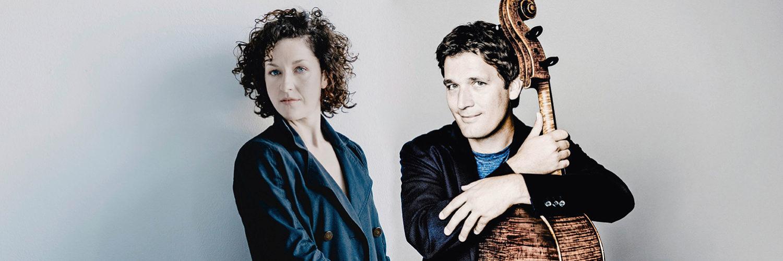 KONZERTSTREAM - Sarah Christian und Maximilian Hornung spielen Jörg Widmanns Heidelberger Duos