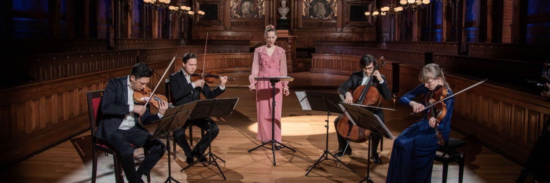 KONZERTSTREAM - Anna Lucia Richter & Schumann Quartett