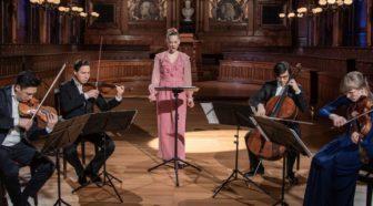 KONZERTSTREAM – Anna Lucia Richter & Schumann Quartett